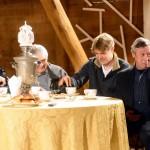 Михаил и Никита Ефремовы стали гостями встречи, посвященной  Дню памяти Олега Ефремова в подмосковном Мелихове