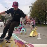 Скейт-контест «Ice Cream For Trick» на фестивале «Московское мороженое»