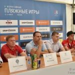 Стартовали II в истории Всероссийские пляжные игры