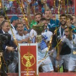 Первый трофей Луческу в России