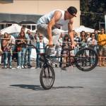 Фестиваль экстремальных видов спорта на Болотной площади.