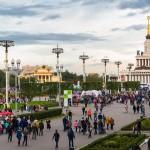 ВДНХ собрала 850 тысяч человек на праздновании Дня города