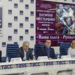 «Наша слава – Русская Держава!»– юбилейная выставка Василия Нестеренко