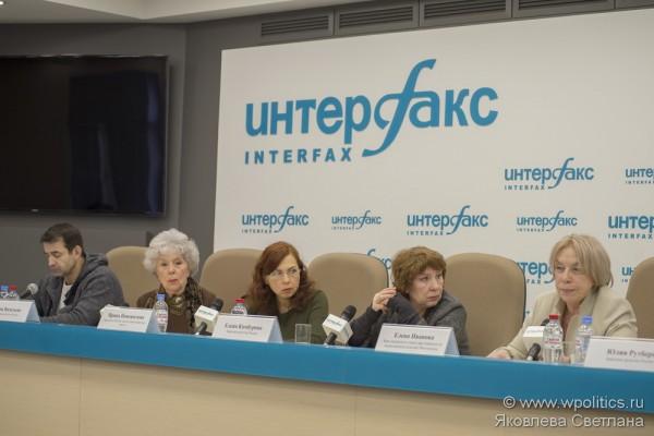 Пресс-конференция в «Интерфаксе», на тему: «Будущий закон по защите животных от жестокости. Пожелания и опасения общественности»