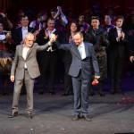Мужчины двух московских театров поздравили женщин с 8 Марта