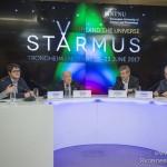 Пресс-конференция, посвященная фестивалю STARMUS