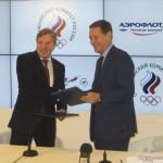 Авиакомпания получила статус Генерального партнера Олимпийского комитета России