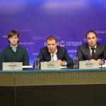 Старт международной велогонки «Пять колец Москвы»
