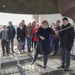 20 апреля 2017 г. Москва. Колокольня Храма Христа Спасителя.