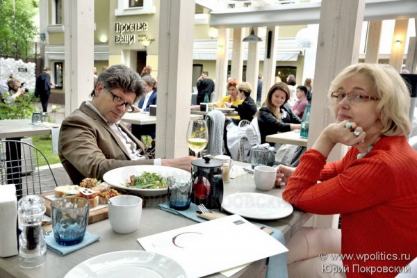 Открытие веранды ресторана «Простые вещи New Vintage» на 1-й Брестской.