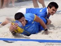 Первый Чемпионат Европы по пляжному регби.