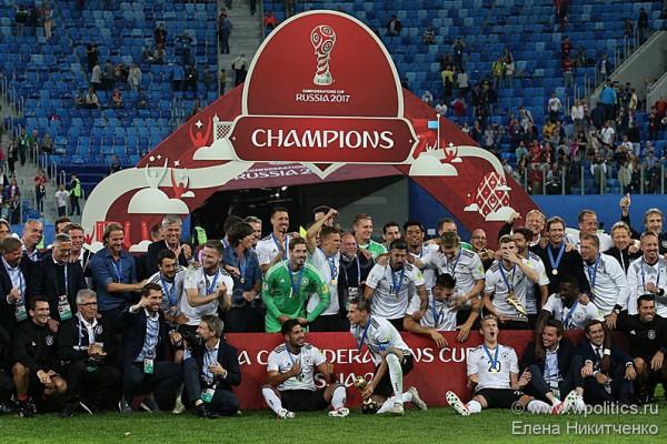 Германия – победитель Кубка Конфедераций FIFA 2017