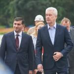 Сергей Собянин посетил строительную площадку парка «Остров мечты»