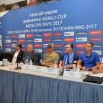 Пресс-конференция по плаванию на Киевской