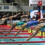 18 медалей Московского этапа кубка мира по плаванию.