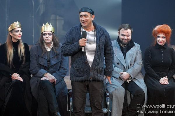 Грузинская версия «Ричард III» на московской сцене