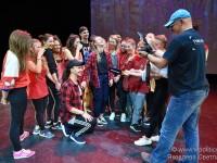 Репетиция танцевального шоу «Жар-птица» в стиле хип-хоп»  по мотивам легендарного балета Игоря Стравинского