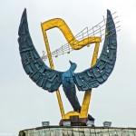 Музыка Ильи Саца под крышей с синей птицей