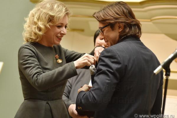 Золотую медаль Николаева вручили в Пушкинском музее