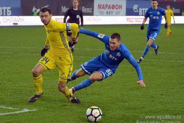 «Динамо» выигрывает у «Ростова» и отдаляется от зоны вылета.