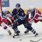 Серия буллитов в московском хоккейном дерби