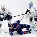 Хоккейное противостояние Питера и Москвы