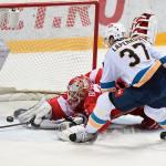 «Спартак» проигрывает ХК «Сочи» в Москве.