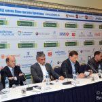 Вильям Галлас и Франческо Тотти на «Кубке Легенд» в Москве.