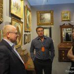 Центральный выставочный зал Манеж в Москве открыл Russian Art & Antique Fair.