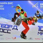 Этап Кубка мира по сноуборду в дисциплине «Сноуборд-кросс».