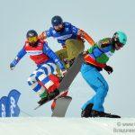 Этап Кубка мира по сноуборд-кроссу в Крылатском.