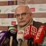 Пресс-брифинг с президентом Московского международного кинофестиваля Никитой Михалковым