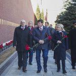 Мемориальная акция, посвященная  73-й годовщине Победы советского народа в Великой Отечественной войне и 74-й годовщине освобождения Крыма от немецко-фашистских захватчиков