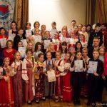 Вручение наград лауреатам ежегодного  Московского и Всероссийского Конкурса учащихся «Белые журавлята России»