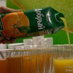 Бренд «Добрый» отпраздновал 20-летие открытием первого в России «Мира сока»