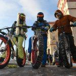 Зимний праздничный велопробег по Москве. 24 февраля