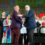 Прототип главного героя «Баранкин, будь человеком» посетил  премьеру спектакля в Новой Опере