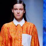 Показ британского дизайнера HARRIET ECCLESTON на Неделе моды Mercedes-Benz Fashion Week Russia