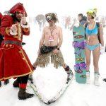 Торжество высокогорного карнавала BoogelWoogel над стихией: в капитанских спусках на Роза Хутор приняли участие более 1500 райдеров со всей России