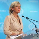 Брифинг Марии Захаровой в МИД России