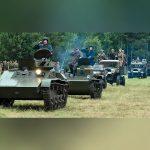 Военно-патриотический слет «Моторы войны» в селе Ивановское Городского округа Черноголовка