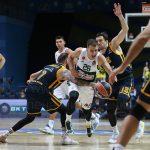 «Химки» без Шведа уступили «Панатинаикосу» в матче первого тура баскетбольной Евролиги