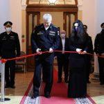 Главком ВМФ России открыл уникальную  фотовыставку «Аристократы морей» в Адмиралтействе.