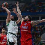 ЦСКА уверенно разобрался с «Жальгирисом» в матче баскетбольной Евролиги