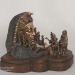 Выставка скульптуры Григория Златогорова «Олимп и Сион»
