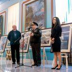 Фотовыставка «АРИСТОКРАТЫ МОРЕЙ» в  Нахимовском военно-морском училище.