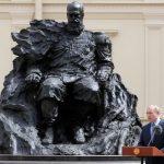 Открытие памятника Александру III в Гатчинском дворце 18+