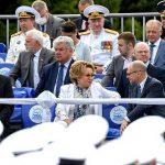 В. Матвиенко приняла участие в торжественных мероприятиях в Санкт-Петербурге в честь Дня Военно-Морского Флота 18+