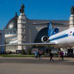 Возрождение легендарного самолета Як-42 на ВДНХ 7+