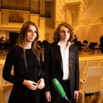 Адам и Дали Гуцериевы выступили со всемирно известным дирижером Кери-Линн Уилсон 12+
